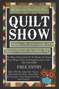 Copy of Quilt Show